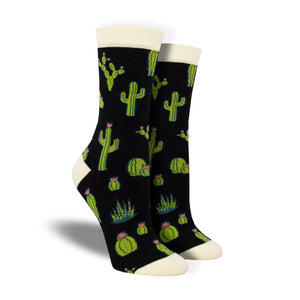 Women's Bamboo King Cactus Socks