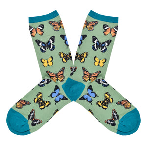 Women's Majestic Butterflies Socks
