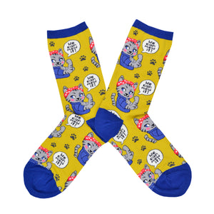 Women's We Can Mew it Socks