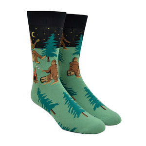 Men's Sasquatch Camp Out Socks