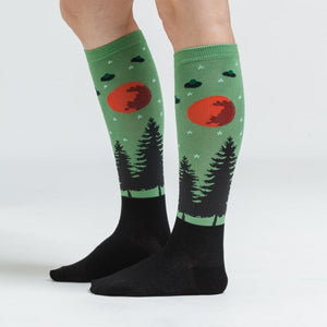 Women's I Believe Knee High Socks