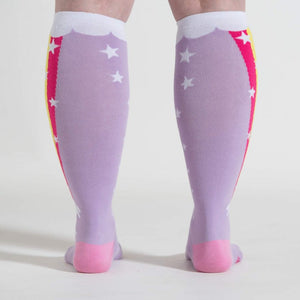 Unisex Rainbow Blast Stretch-It Knee High Socks