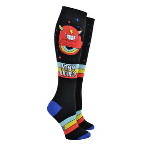 Unisex Stay Weird Stretch-It Knee High Socks