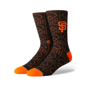 Men's Giants Scorebook Socks