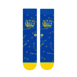 Men's Warriors Playbook Socks