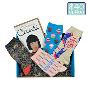 Women's Birthday Surprise Gift Box