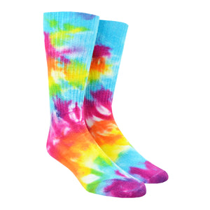 Men's Rainbow Garden Tie-Dye Socks