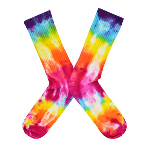 Men's Rainbow Tie-Dye Socks