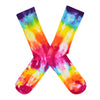 Women's Rainbow Tie-Dye Socks