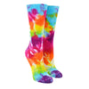 Women's Rainbow Garden Tie-Dye Socks