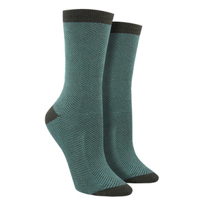 Women's Bamboo Herringbone Socks
