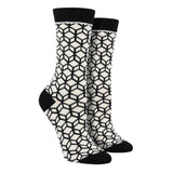 Women's Bamboo Cubes Socks
