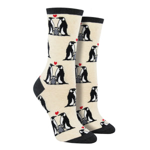 Women's Penguin Love Socks