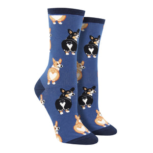 Women's Corgi Butt Socks