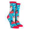 Women's Kahlo Portrait Socks