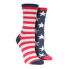 Women's Flag Socks