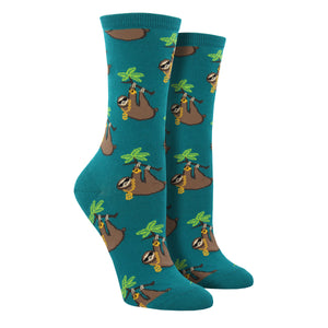 Women's Sloth Bling Socks