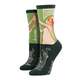 Women's Absinthe Girl Socks