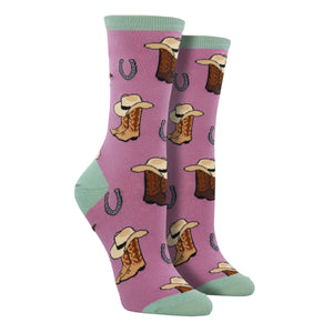 Women's Cowgirl Up Socks