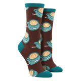 Women's Well Latte Da Socks