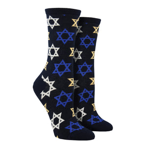 Women's Star of David Socks