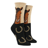 Women's Horse Portrait Socks