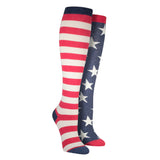 Women's Flag Knee High Socks