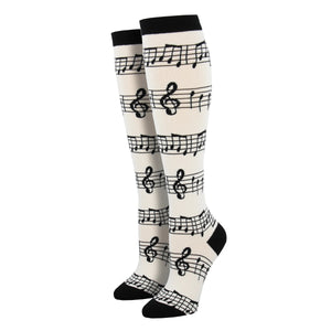 Women's Music Knee High Socks