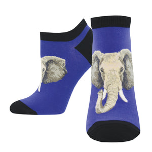Women's Elephant of Surprise Ankle Socks