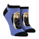 Women's Pug Lyfe Ankle Socks