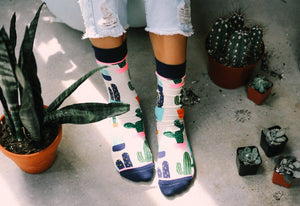 Women's Prickly Pear Socks