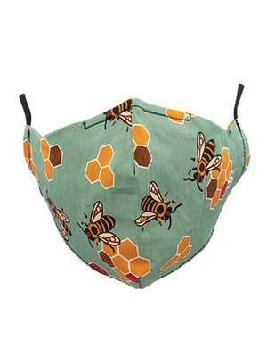 Unisex Busy Bees Mask