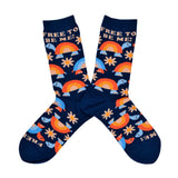 Women's Free to Be Me Socks