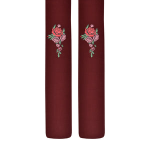 Women's Bouquet Of Roses Tights