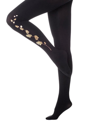 Women's Leaves and Vines Tights