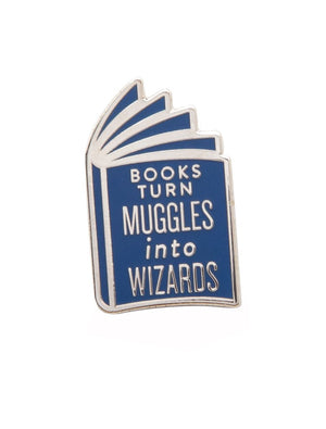 Books Are Magic Pins