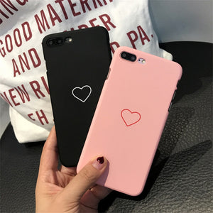 Cute Love Heart  Cover For iPhone