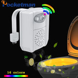 UV Sterilization Toilet Light 16 Colors Changing PIR Motion Sensor RGB.