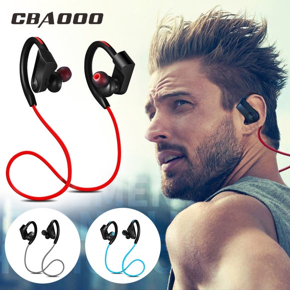 Sport Bluetooth Headphone Wireless Earphones Waterproof