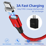 Magnetic Charge Cable- Micro USB Fast Charging- Type C- Data Cable for iPhone.