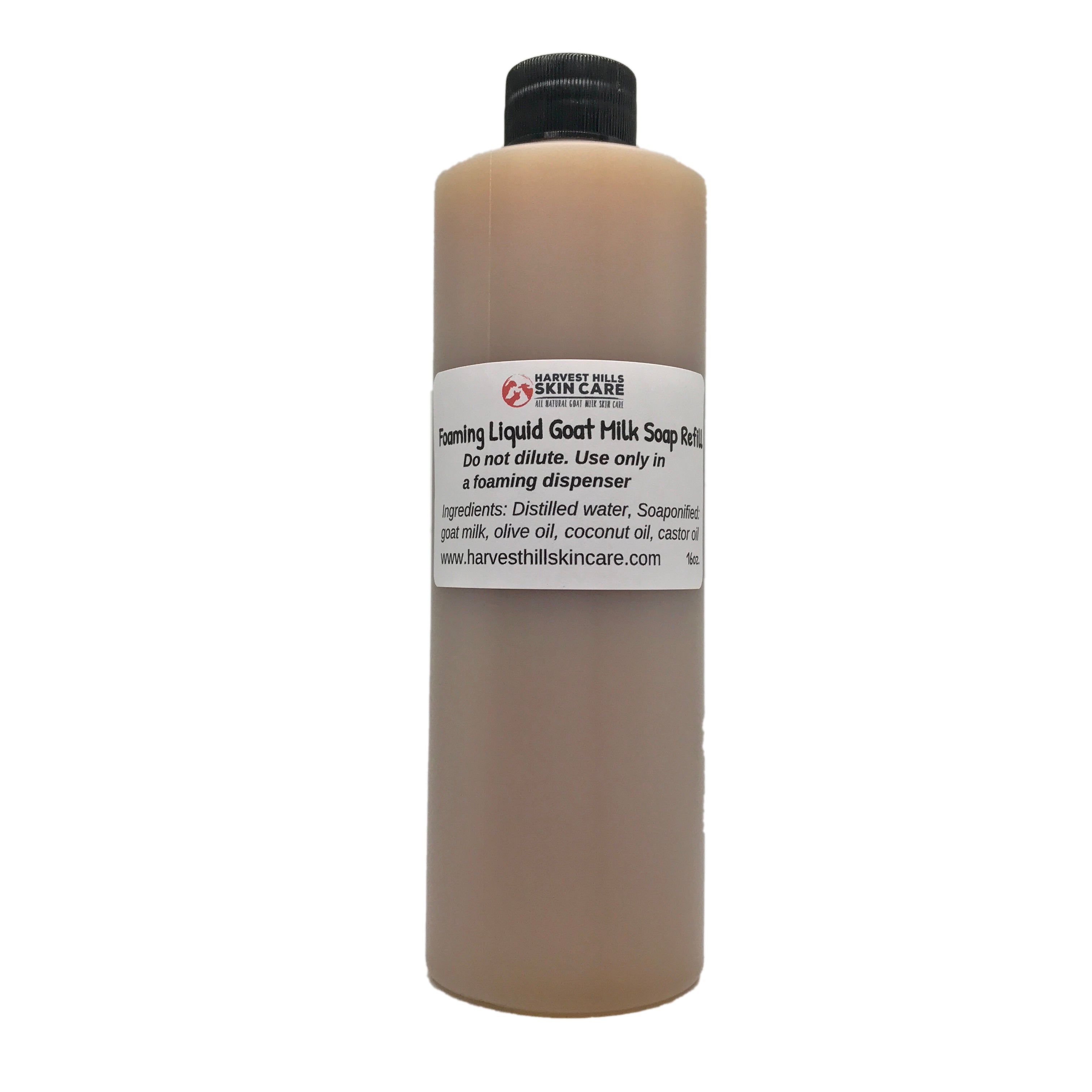 Liquid Goat Milk Soap - Foaming - For Hands and Body