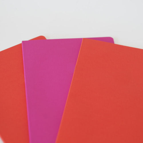 Bespoke A5 Softcover Coloured Notebooks - Foiled