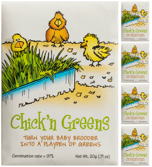 Chick'n Greens™ Organic Seed Packet