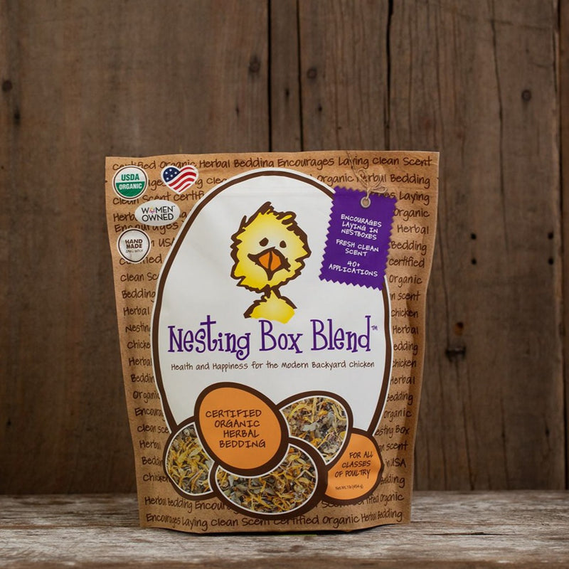Nesting Box Blend Herbal Bedding for Poultry