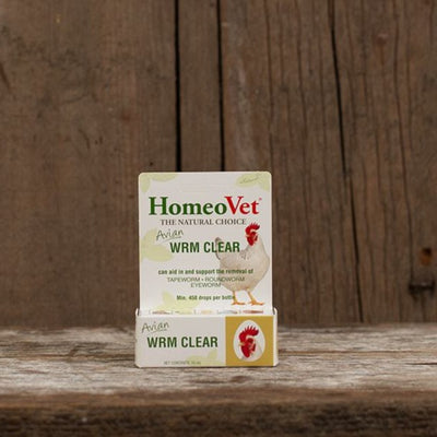 HomeoVet Wrm Clear for Poultry