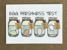Load image into Gallery viewer, Egg Freshness Test Note Cards