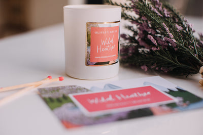 New LIMITED EDITION Candle - Wild Heather
