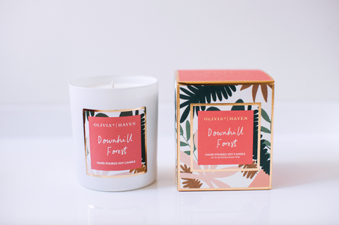 Downhill Forest - Soy Candle