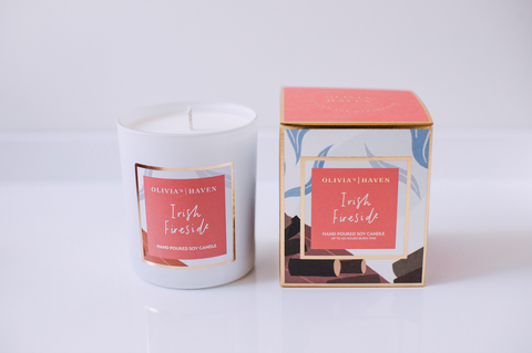 Irish Fireside - Soy Candle