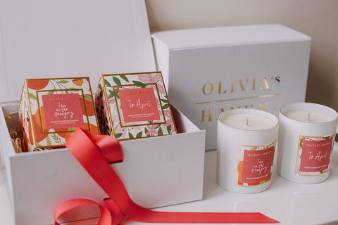 Gift Box - 2 Candles + Gift Wrapped